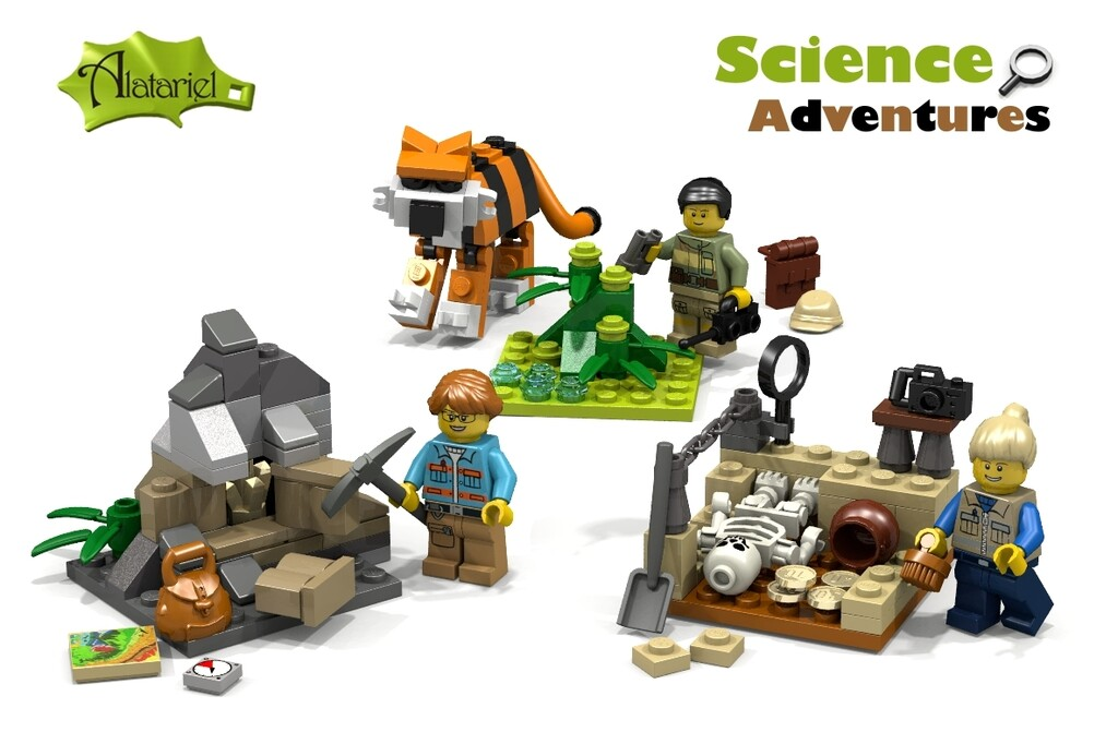 BrickLink Designer Program: Science Adventures