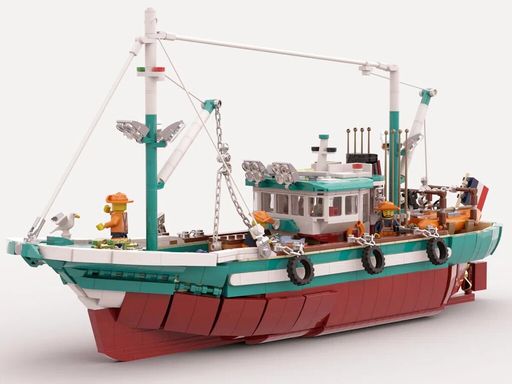 BrickLink Designer Program: The Great Fishing Boat