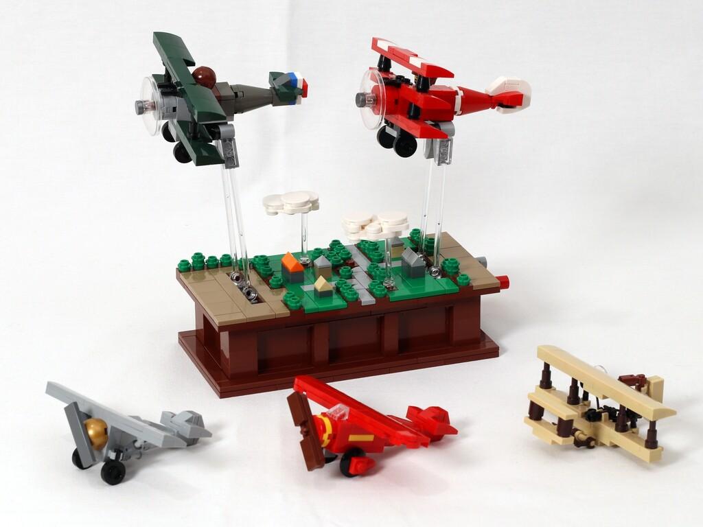 BrickLink Designer Program: Pursuit of Flight