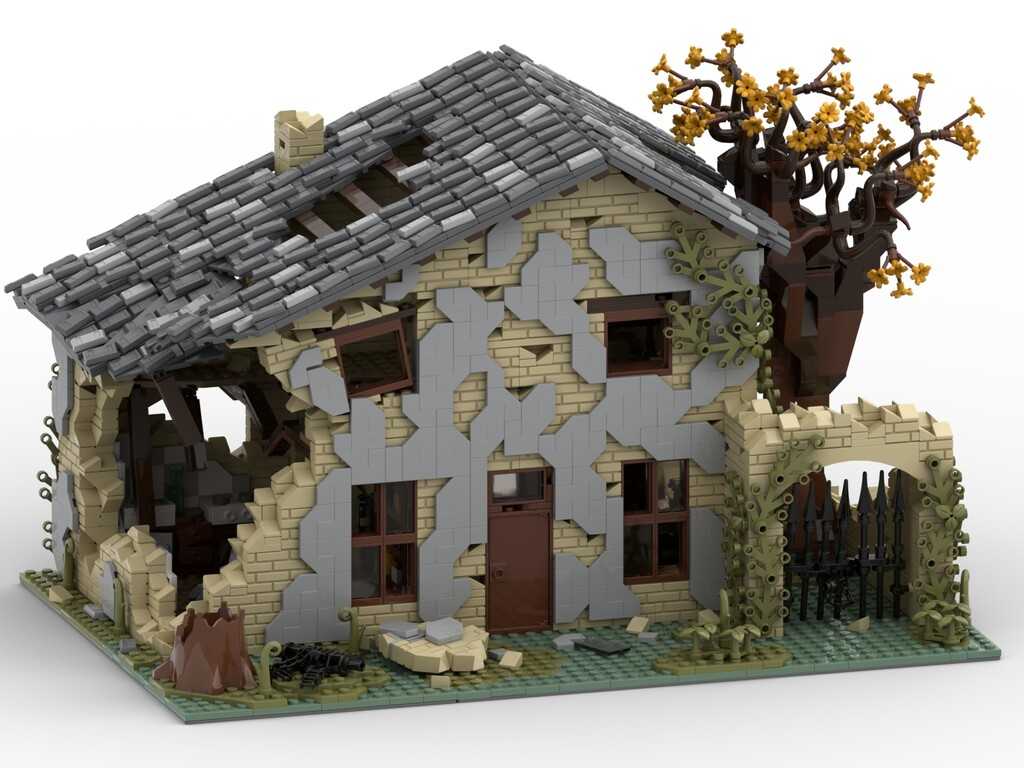 BrickLink Designer Program: Ruined House