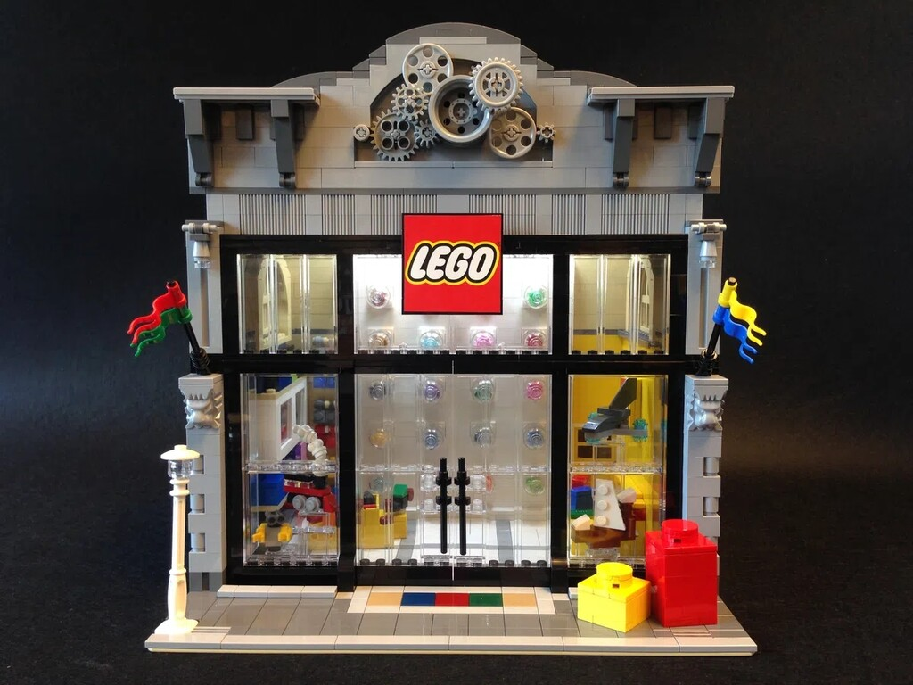 BrickLink Designer Program: LEGO Store Modular Version