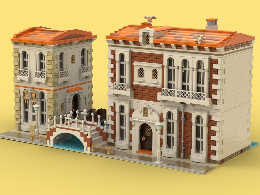BrickLink Designer Program: Venetian Houses