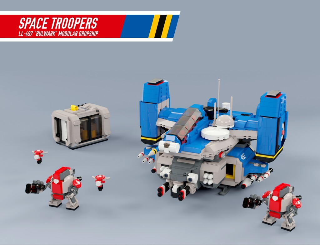 BrickLink Designer Program: Space Troopers!