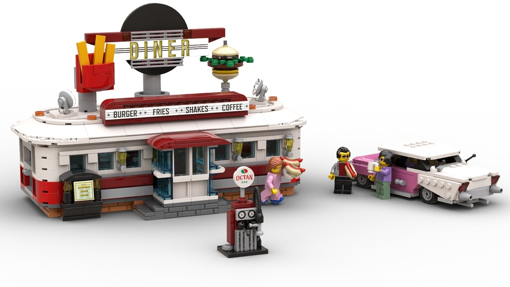 BrickLink Designer Program: 1950s Diner