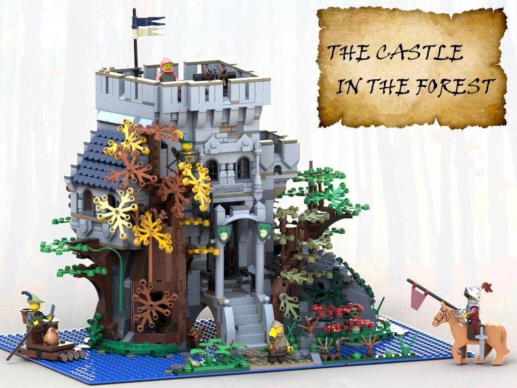 BrickLink Designer Program: The Castle in the Forest