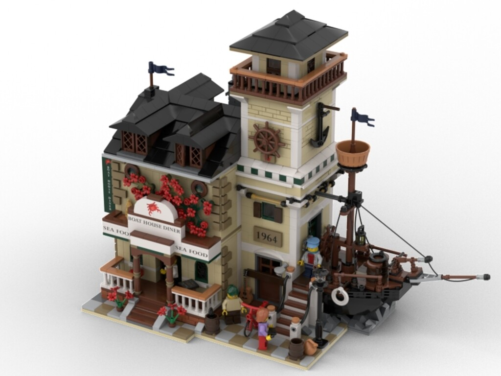 BrickLink Designer Program: Boat House Diner