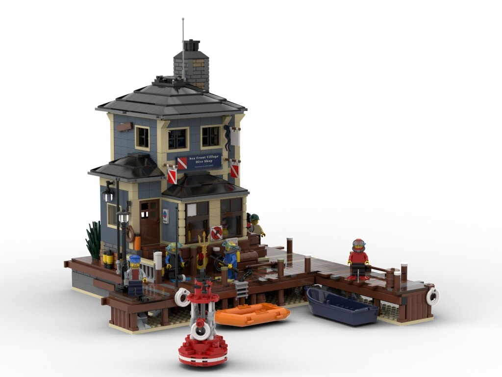 BrickLink Designer Program: The Dive Shop