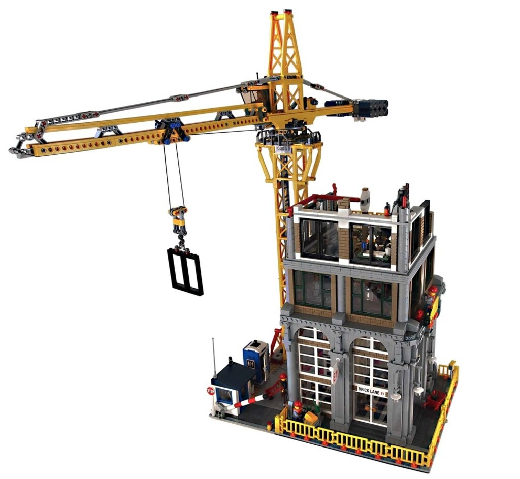 BrickLink Designer Program: Modular Construction Site