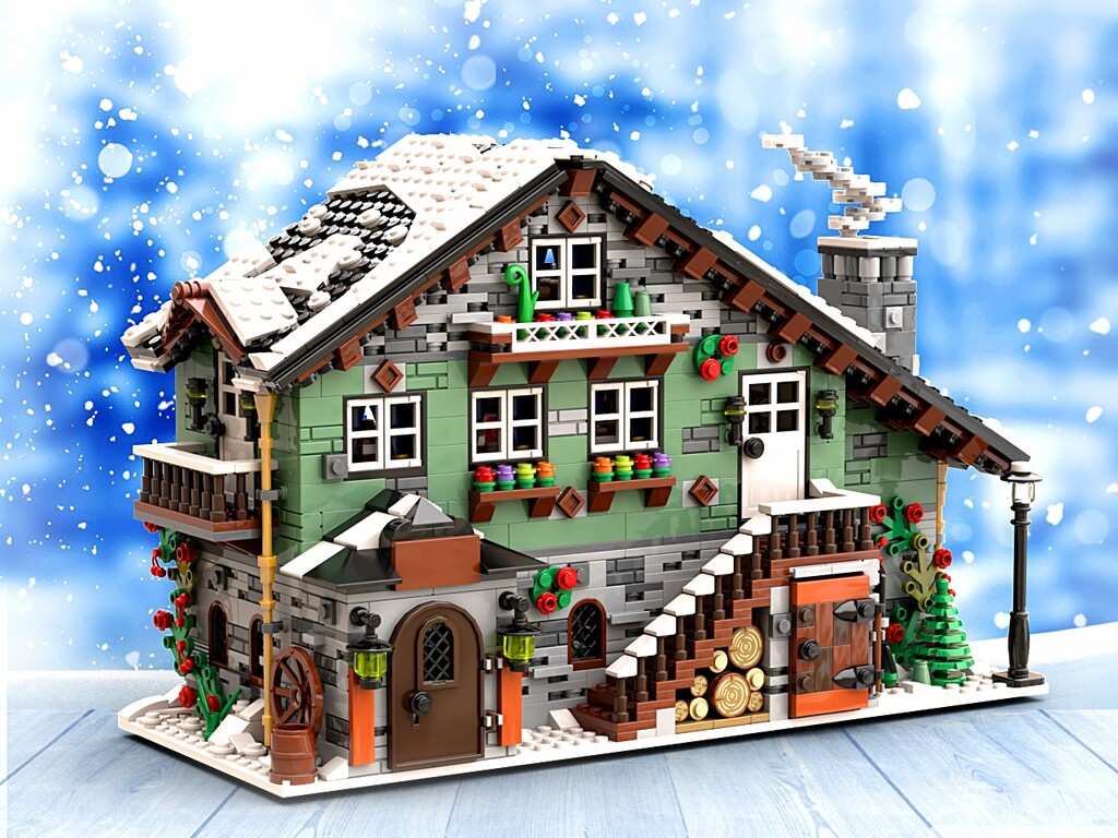 BrickLink Designer Program: Winter Chalet