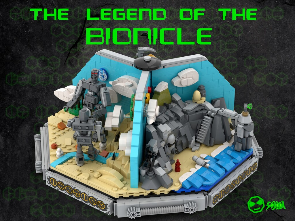 BrickLink Designer Program: The Legend of the Bionicle