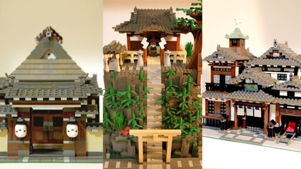BrickLink Designer Program: Japanese old style architecture