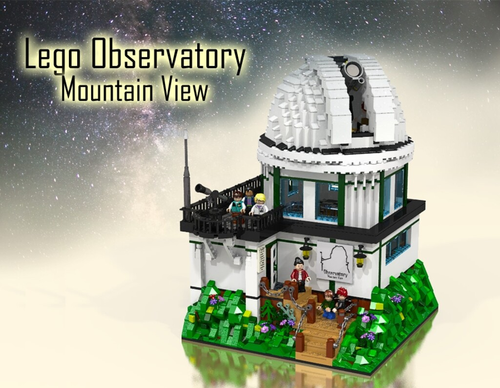 BrickLink Designer Program: LEGO Observatory Mountain View