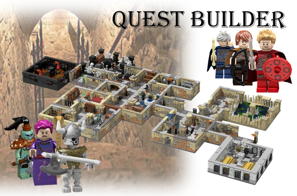 BrickLink Designer Program: Quest Builder