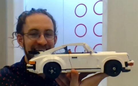 Mike Psiaki and his LEGO 10295 Porsche 911