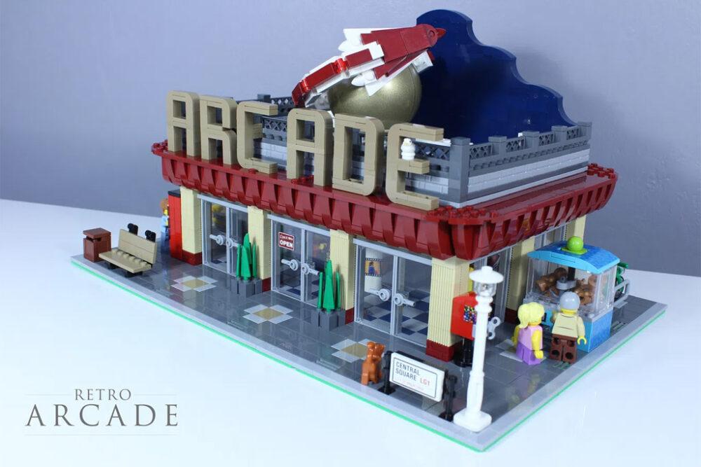 LEGO Ideas Aracade Hall