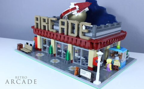 LEGO Ideas Aracade Hall