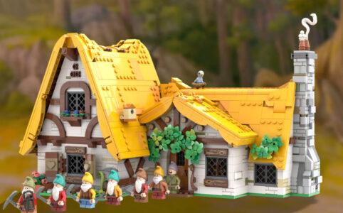 LEGO Ideas Schneewittchen und die sieben Zwerge