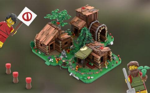 LEGO Ideas Siedler