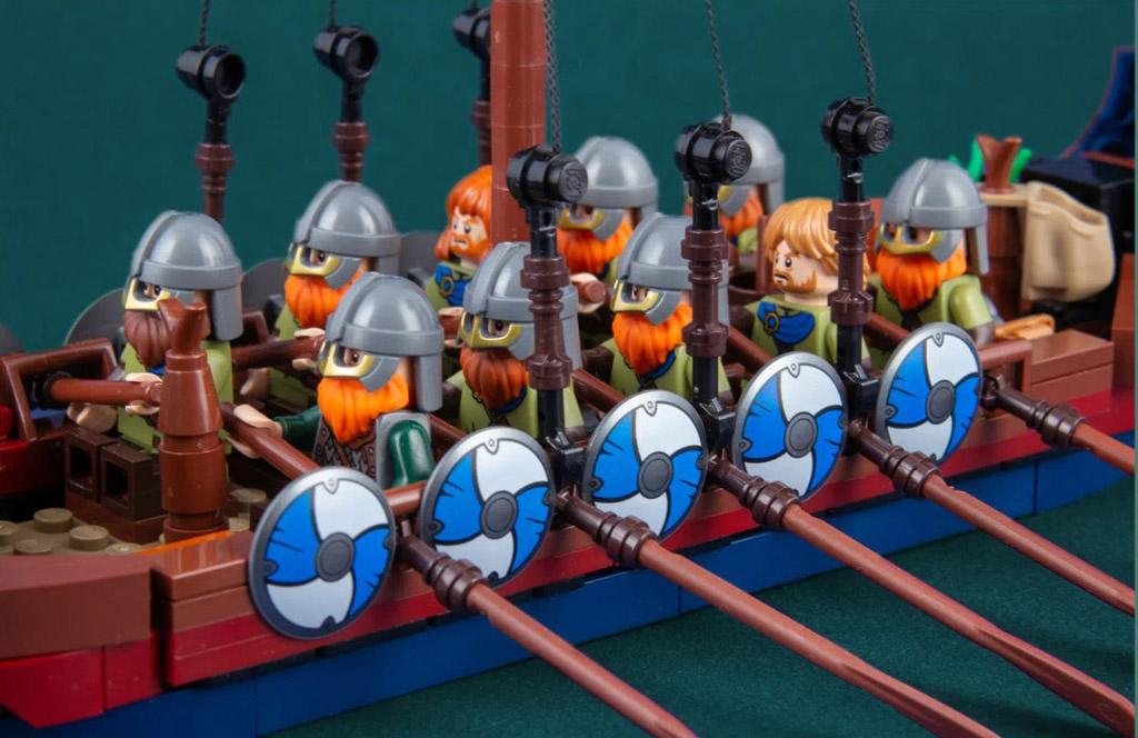 LEGO Ideas Viking Longship von Jonas Kramm
