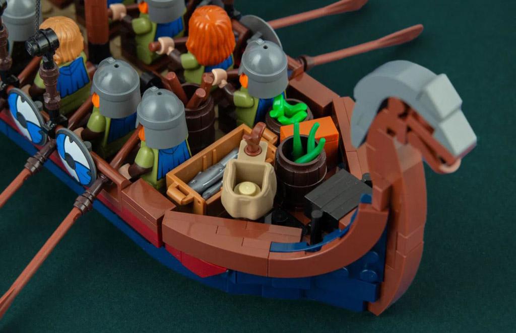 LEGO Ideas Viking Longship von Jonas Kramm Vorräte