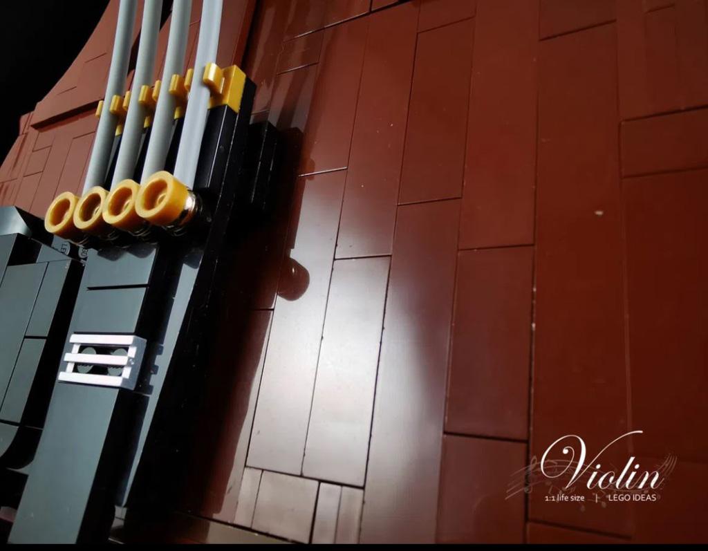 LEGO Ideas Entwurf Violin von Samuel Ho