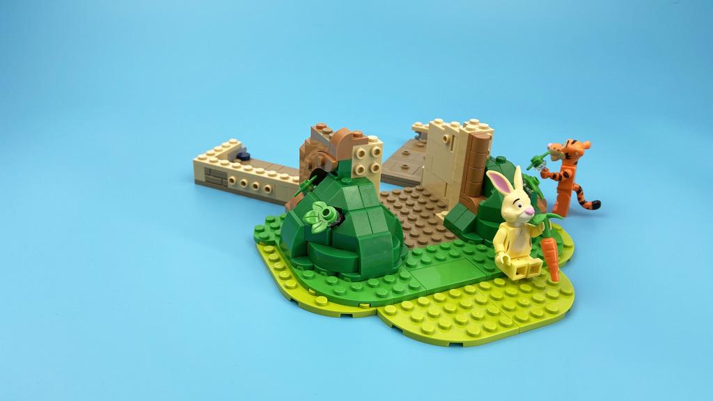 LEGO Ideas 21326 Disney Winnie the Pooh Die Befestigung der Blätter erfordert etwas Fingerspitzengefühl