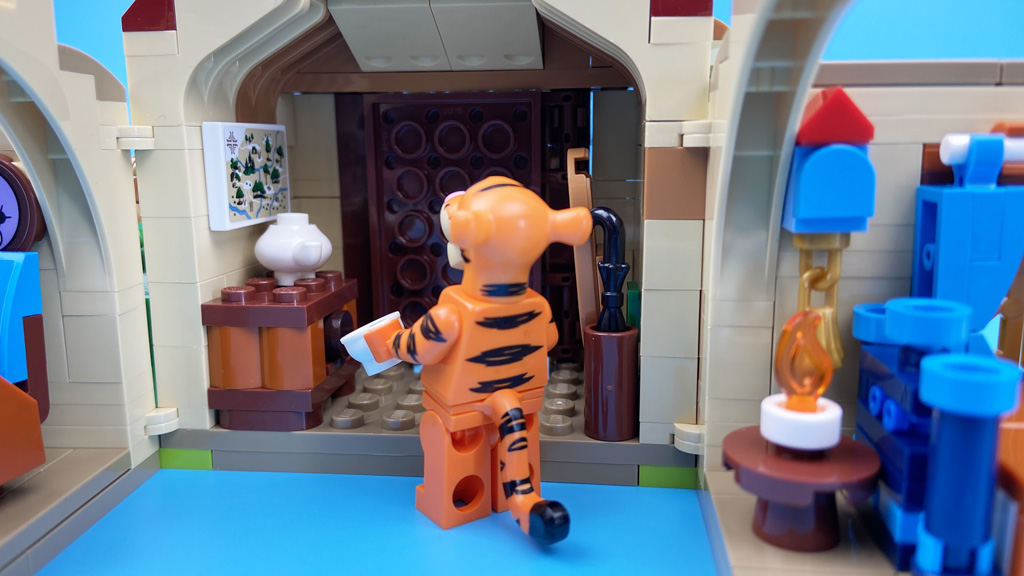 LEGO Ideas 21326 Disney Winnie the Pooh Der Vorraum