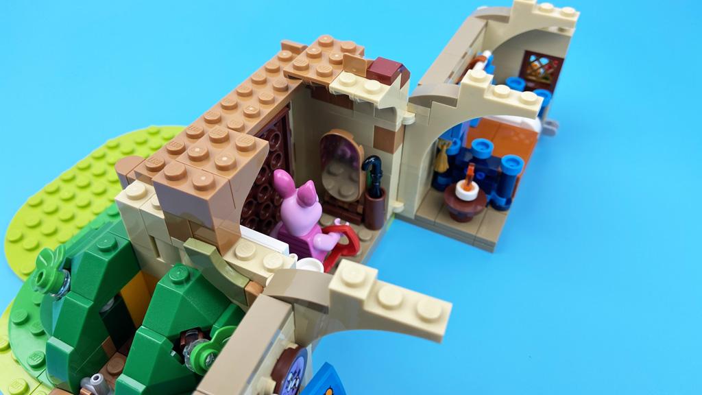 LEGO Ideas 21326 Disney Winnie the Pooh Der Vorraum mit Spiegel