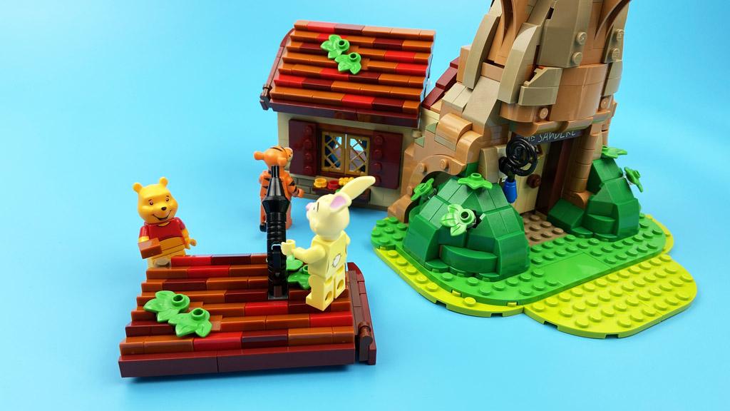 LEGO Ideas 21326 Disney Winnie the Pooh das Dach