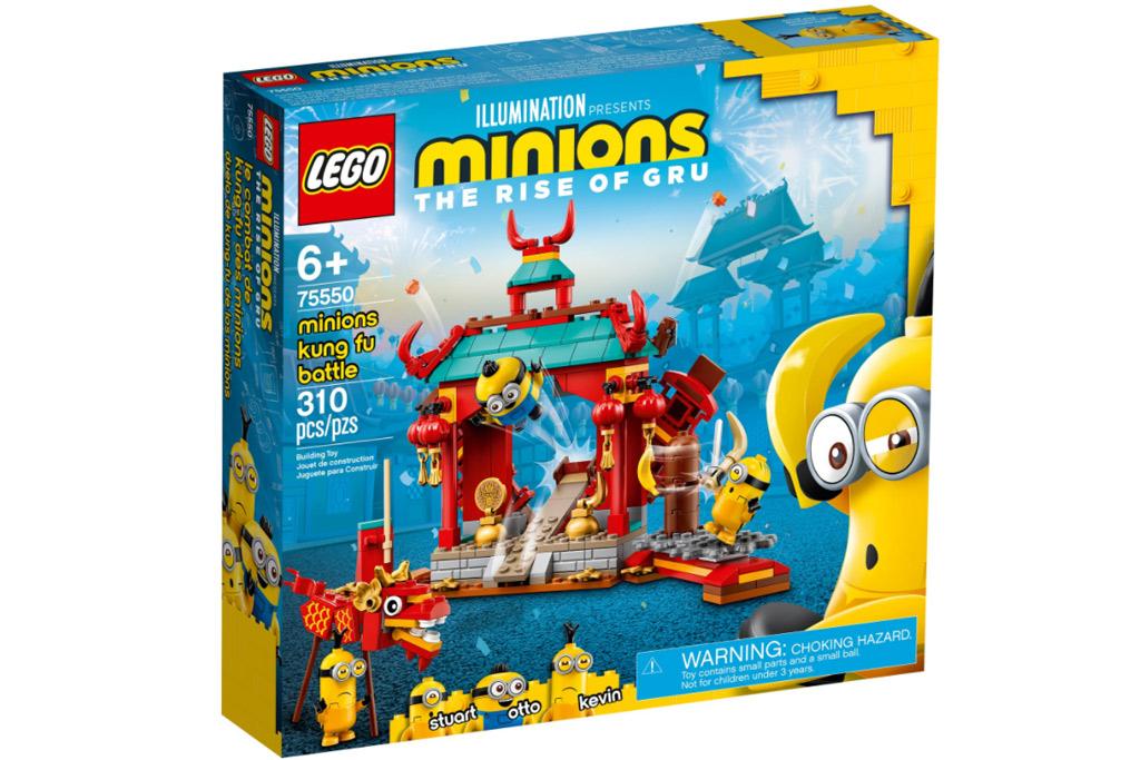 LEGO Minions 75550 Minions Kung Fu Tempel