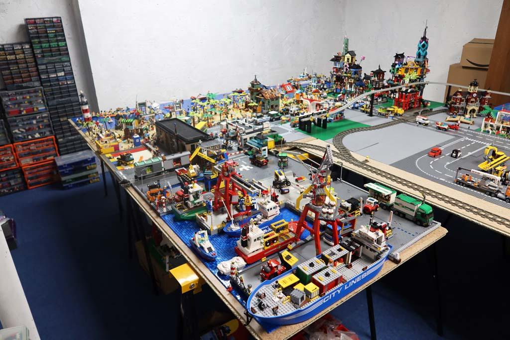 LEGO Stadt Bricks go WILD der Hafen