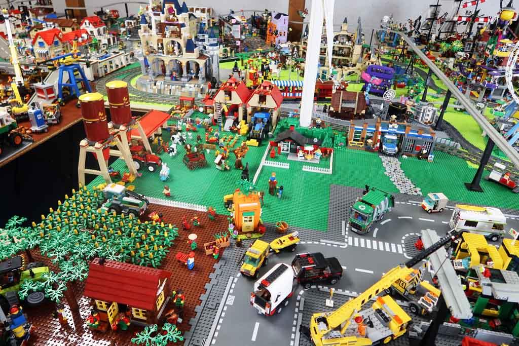 LEGO Stadt Bricks go WILD der ländliche Bereich