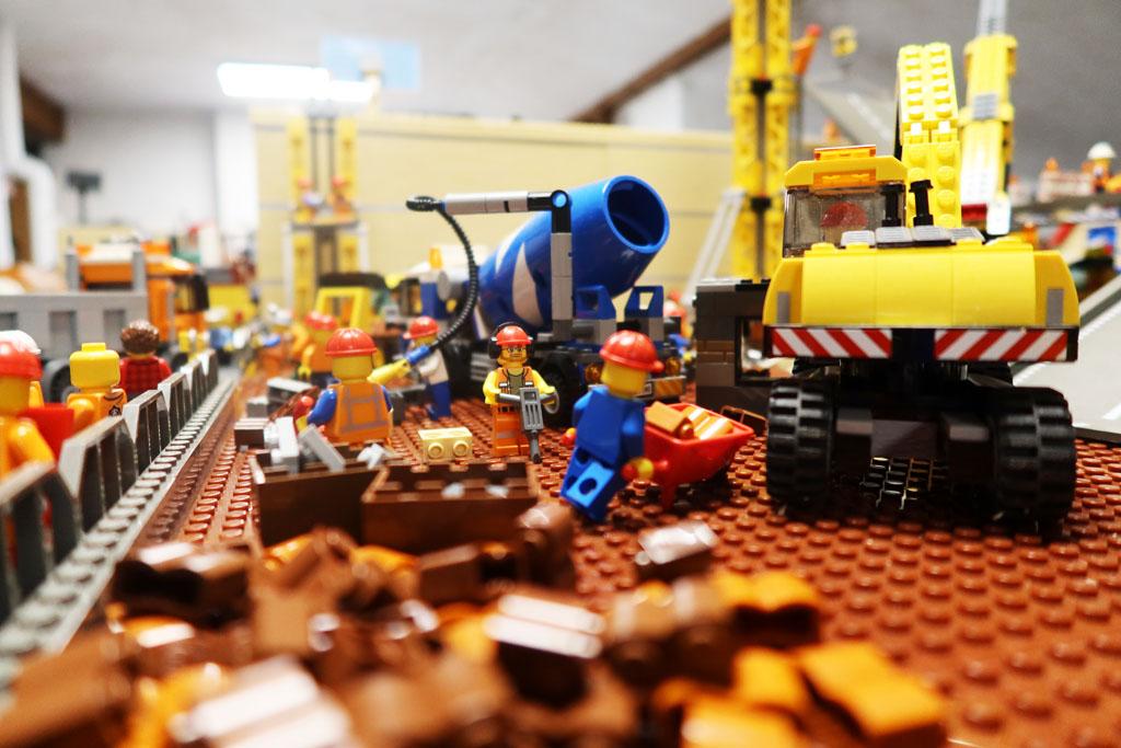 LEGO Stadt Wild City von Bricks go WILD, die Baustelle