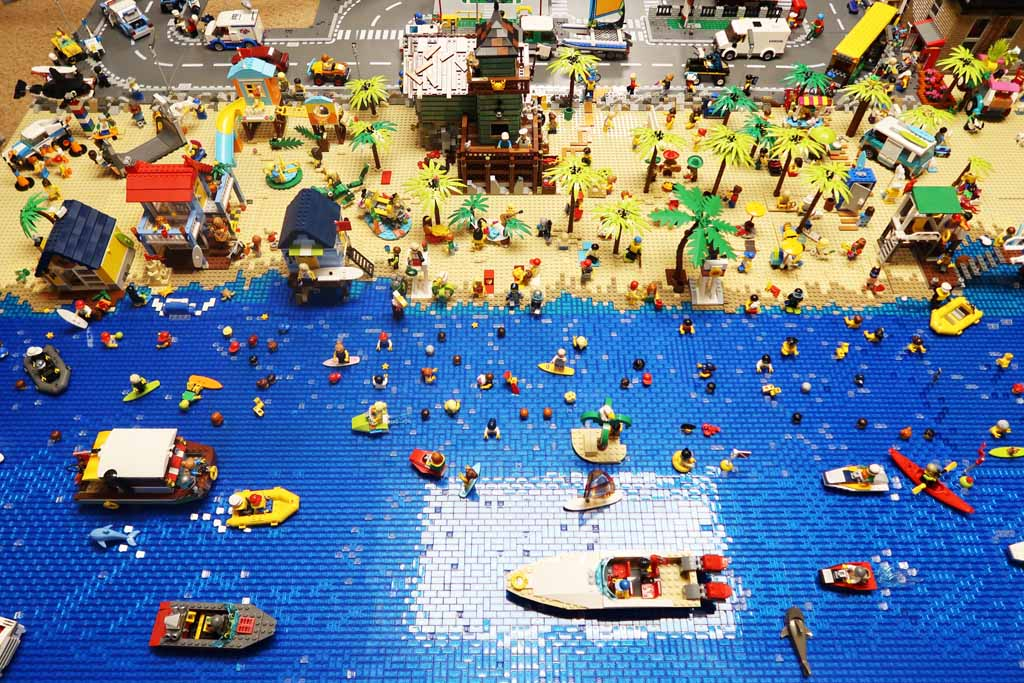 LEGO Stadt Wild City von Bricks go WILD der Strand