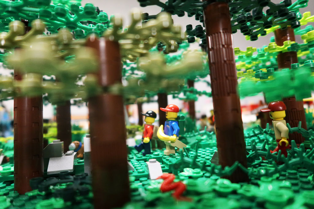LEGO Stadt Wild City von Bricks go WILD der Wald