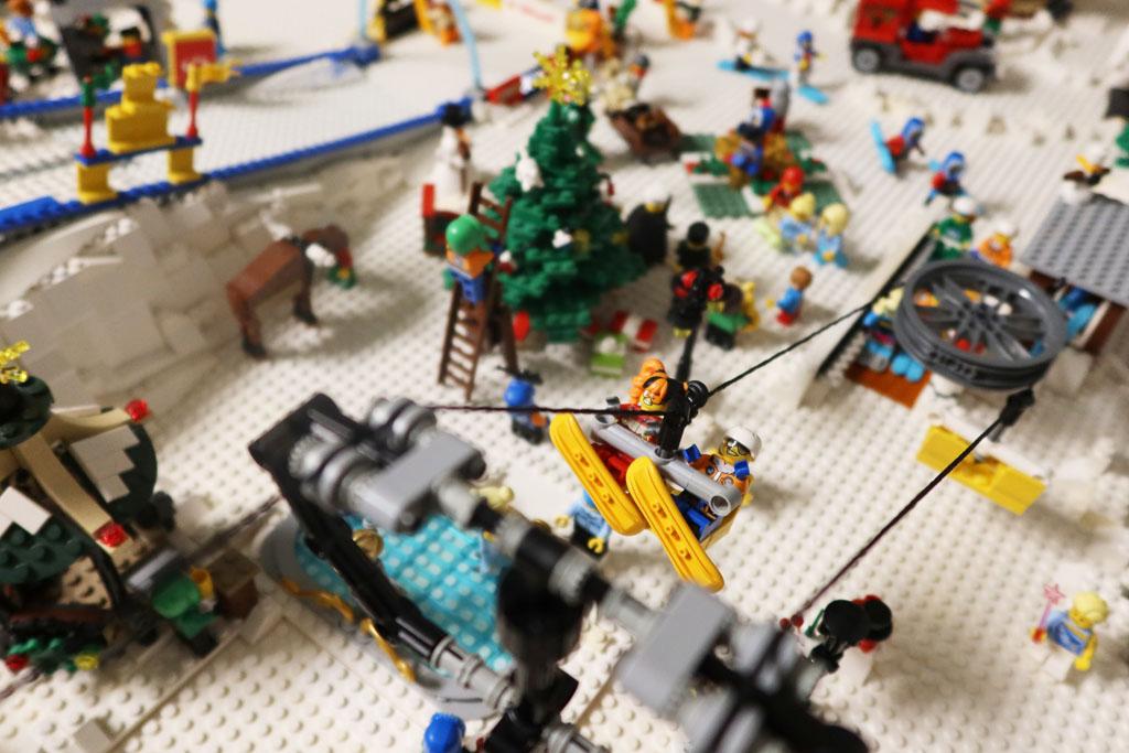 LEGO Stadt Wild City von Bricks go WILD Das Winterdorf