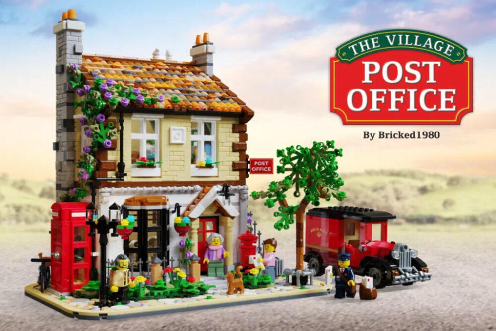 LEGO Ideas The Village Post Office