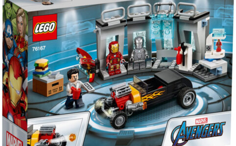 LEGO Marvel 76167 Avengers Iron Mans Arsenal