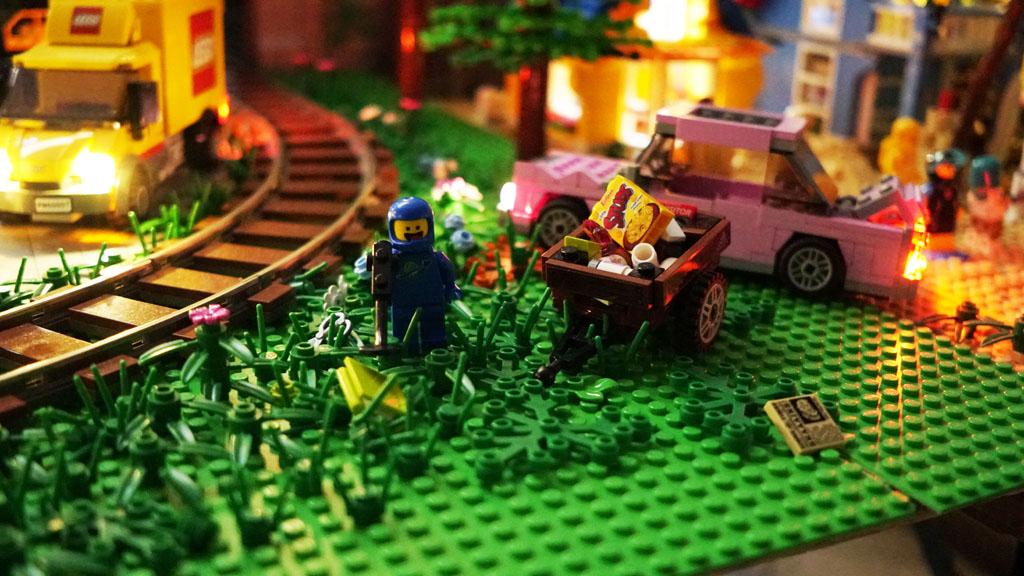 Stadtgespräch Bricksonville reichlich Müll