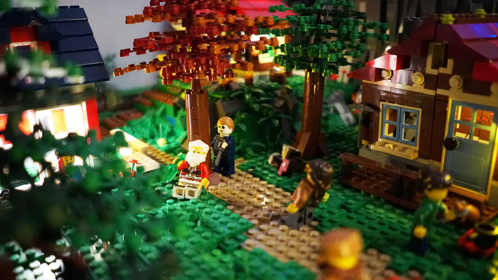 Stadtgespräch Bricksonville Michael Myers