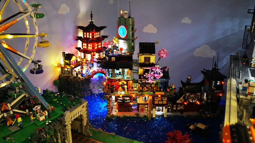 Stadtgespräch Bricksonville der Ninjago District