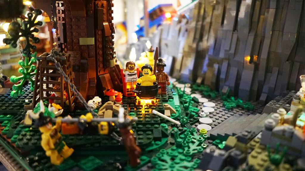 Stadtgespräch Bricksonville Kannibalen im Baumhaus