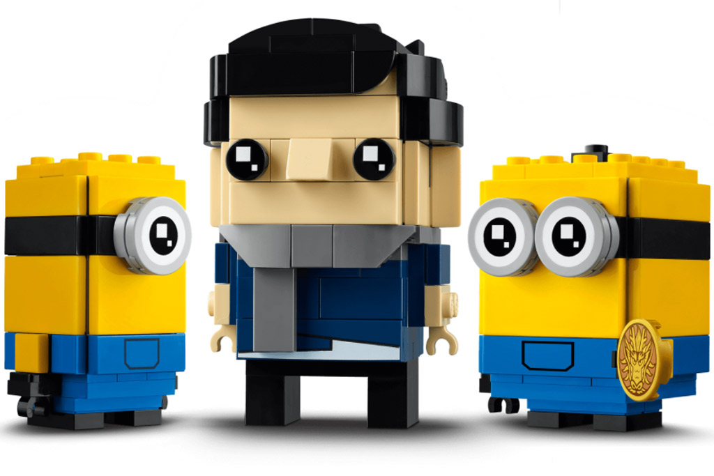LEGO BrickHeadz 404020 Minions Gru, Stuart and Otto