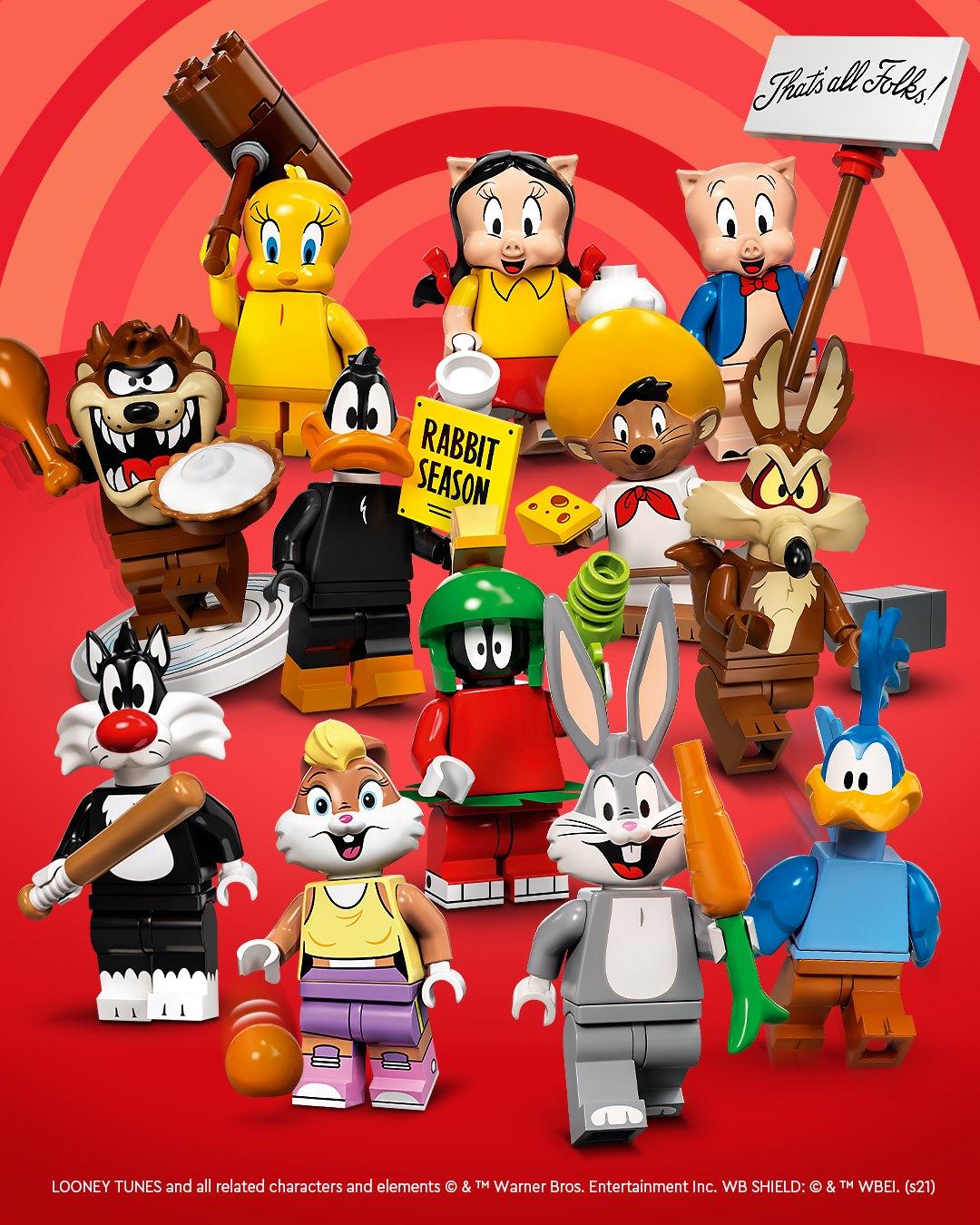 LEGO 71030 Looney Tunes Minifiguren-Sammelserie: Die ganze Rasselbande!