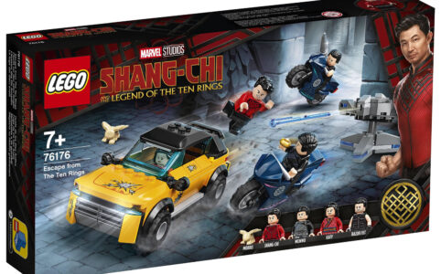 LEGO Marvel Shang-Chi 76176 Escape From The Ten Rings