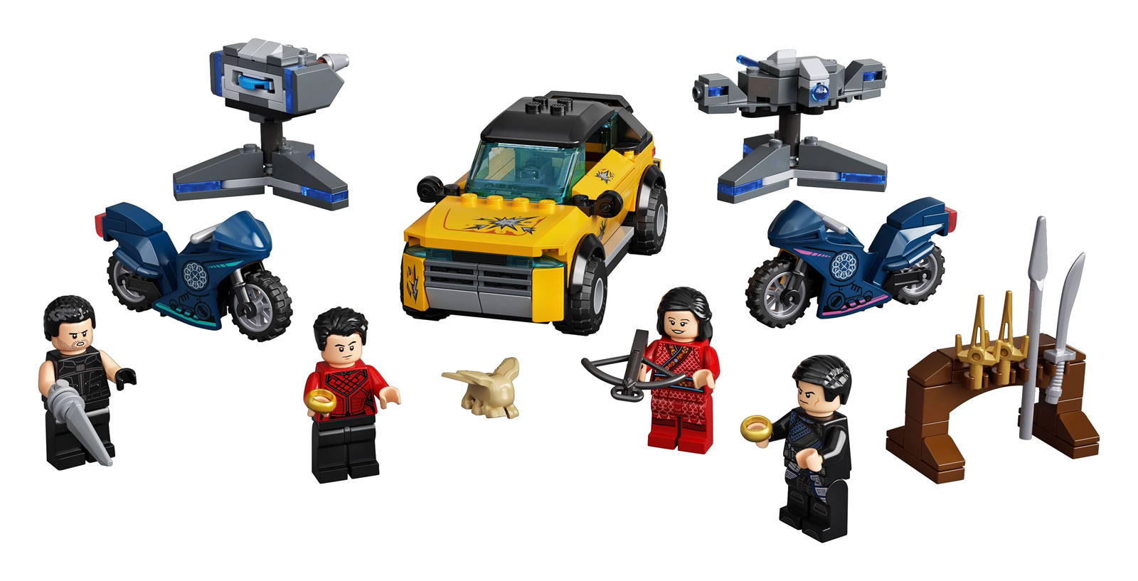 LEGO Marvel Shang-Chi 76176 Escape From The Ten Rings: