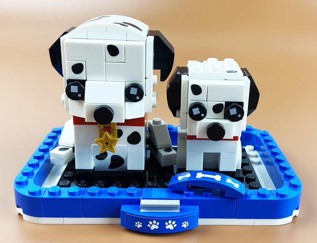LEGO BrickHeadz 40479 Dalamtiner und Welpe