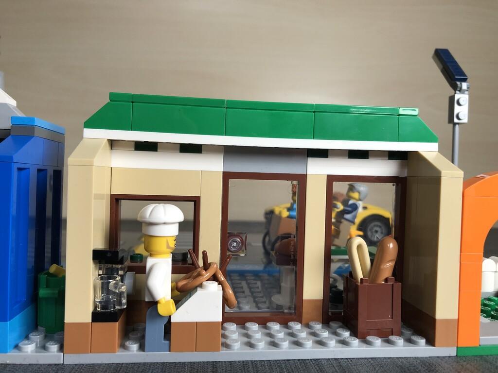 Innenleben der Bäckerei aus der LEGO Shopping Street