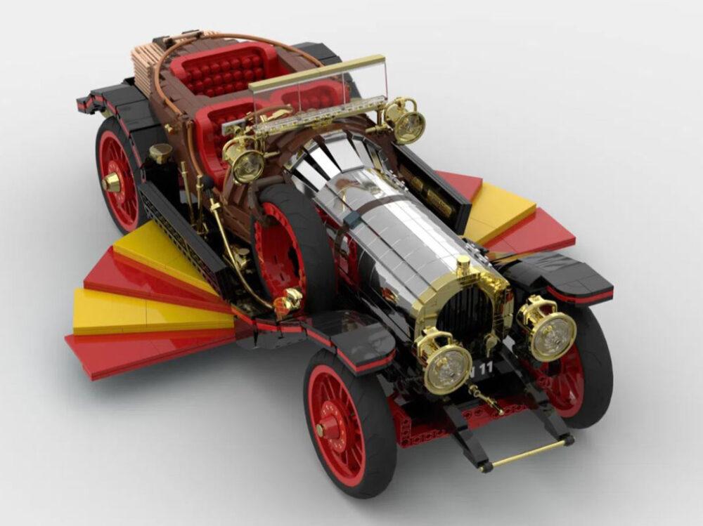 LEGO Ideas Entwurf Chitty Flies Again von Norders