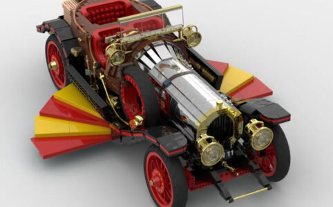 LEGO Ideas Entwurf Chitty Flies Again von Norders